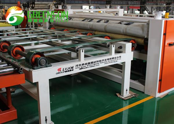 Quality Fully Automatic Cutting Machine For PVC Laminated Gypsum Board Ceiling Tiles for sale