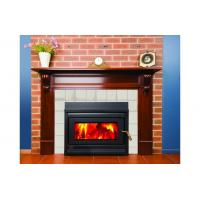 China High Efficiency Indoor Wood Furnace / Indoor Wood Fireplace For Hotel on sale