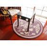 China De Eco de las mantas alfombras orientales redondas amistosas del resbalón no para las mantas orientales redondas del dormitorio wholesale