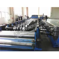 Custom Galvanizing Carbon Steel Silo Making Machine / Equipment With Runout Table