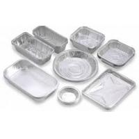 China Regular Size 0.07mm Aluminum Food Storage Containers With Suitable Hardness wholesale