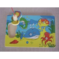 China Wholesale Cheap Plywood Magnetic Fishing Board Early Childhood Educational Toys for Kids wholesale