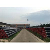 China Carbon Welded Big Size Gi Erw Steel Pipe High Zinc Coating With American Or British Threads And Plastic Caps wholesale