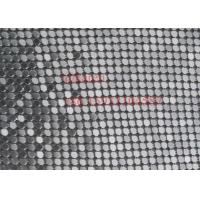 China 4mm Sequin Metal Mesh Fabric Cloth for Dress and shoes wholesale