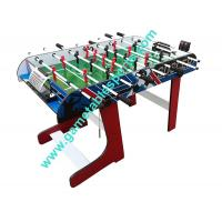 China 4 FT Folding Soccer Table Wood Foldable Soccer Table For Family Play wholesale