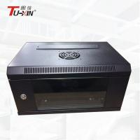 China Lockable Wall Mount Computer Rack , Impact Resistance Wall Mounted Data Cabinet wholesale