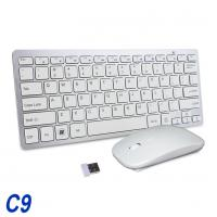 China Full Size Wireless Keyboard And Mouse Combo 2.4G Stable Connection Adjustable DPI wholesale