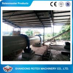 China High Capacity Rotary Drum Dryer / Wood Sawdust Dryer GHG 1.8 * 24 wholesale