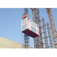 China Construction Building Passenger And Material Hoist , 2700kg Capacity wholesale