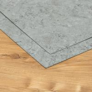 China Flame Retardant Solid Luxury Vinyl Tile Flooring Stone Look Environmental Protection on sale