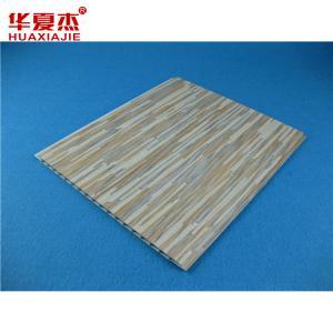 China High Demure Style laminated UPVC False Wall / PVC Wall Covering wholesale