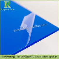 China Custom Sizes and Colors Adhesion Surface Protective Acrylic Sheet Protection Film wholesale