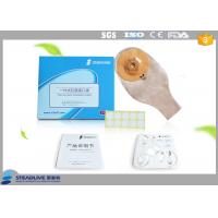 Stoma Colostomy Bag 600ML Volume , One Piece Colostomy Bag With Gas Release