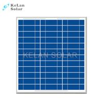 China 30w Polycrystalline Solar Panel Weathering Resistance TPT With 25 Years Warranty wholesale