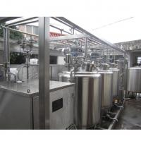 China Tub Type 1 T/H Automatic Dairy Production Line For Milk / Stirred Yogurt wholesale