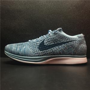 China Nike Flyknit Racer Triple Black shoes men women sneakers on sale