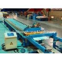 China Double Layer Colored Steel Roof Roll Forming Machine With Uncoiling SGS Approved wholesale