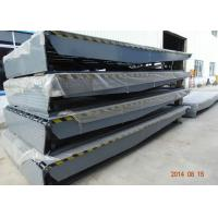 China 4200mm Two Cylinders Power Ramp Dock Leveler For Warehouse Pier wholesale
