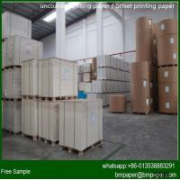 China 60-120g Bulky Book Paper / Book Paper / Cream Bulky Paper wholesale