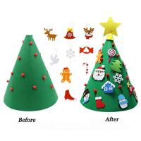 China 70cm Height DIY Handcrafted Christmas Decorations Home Artificial Tree Ornaments on sale
