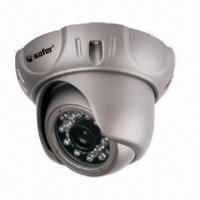 China Outdoor IR Dome Camera with Vandal-proof Housing and 3.6mm Fixed Board Lens  wholesale