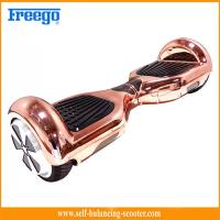 China Intelligent 6.5 Inch Self Balancing Scooter With Electroplating wholesale