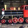 China Outdoor Tourist Train Rides Theme Park Steam Train Rides For Families wholesale
