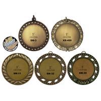 3D Award Enamel Medallion