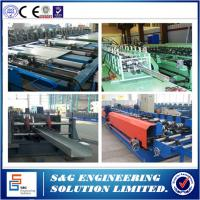 China Cable Tray Ladder Making Cold Roll Forming Machine, Cable Tray Making Machine 1 ~ 3mm Thick on sale