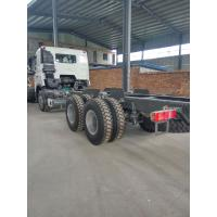 China SINOTRUK HOWO Dropside Cargo Commercial Vehicle Truck Chassis LHD 6X4 371HP on sale