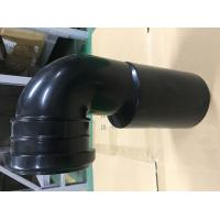China Toilet Black Plastic Drain Pipe For Hang Wall Type Toilet Seat To Hide Water Tank Fittings wholesale