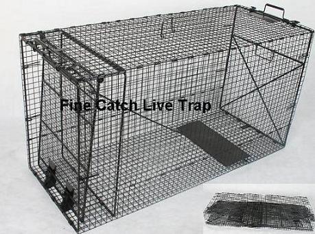 Folding Animal Cage Trap Images