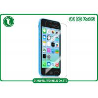 China iPhone 5 / 5s / 5c Tempered Glass Screen Protectors 2.5d Curved Edge wholesale