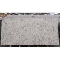 Lightweight Quartz Kitchen Worktops , White Engineered Quartz Countertop Slabs
