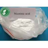 Buy cheap Pharmaceutical 99% Powder Nicotinic Acid For Digestion CAS 59-67-6 from wholesalers