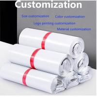 China Eco Friendly Custom Printed Pink Postal Poly Mailer Envelopes Mailing Bags, BIODEGRADABLE, COMPOSTABLE, CORN STARCH, PAC on sale