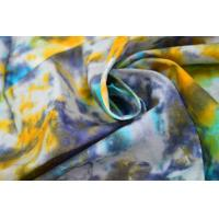 China Tie - Dye  Waxed Cotton Canvas / 8OZ Woven Cotton Fabric For Bags wholesale