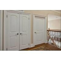 China Waterproof Contemporary Wood MDF Interior Doors With Handle And Lock wholesale
