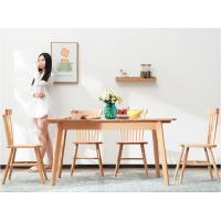 China Square Home Solid Wood Extendable Dining Room Table For Small Spaces wholesale