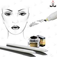 Disposable Manual Tattoo Pen With #7 #12 #14 #17 #18U Blade For 3D Embroidery