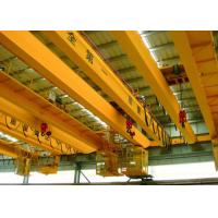 China Low Noise Electric Double Beam Overhead Crane With Electric Hoist wholesale