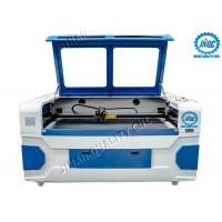 China Dual Laser Head Co2 Textile Laser Cutting Machine With CCD Camera on sale