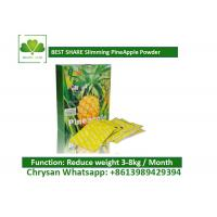 China Slimming Pineapple Tea , Fast  Reduce Weight Management Products wholesale
