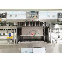 Quality Disposable Sugarcane Paper Plate Making Machine / Tableware Production Line for sale