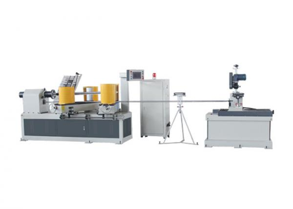 Quality Four - Head CNC Paper Tube Machine For 30 - 200mm Diameter Paper Core Making for sale