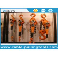 China Basic Construction Tools 3 Ton Capacity Lever Chain Hoist Lever Block wholesale