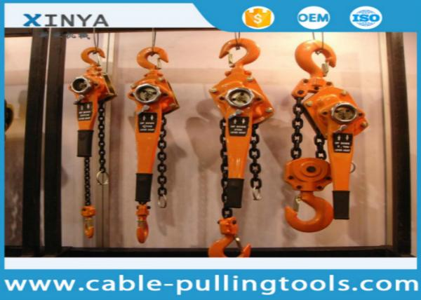 Quality Basic Construction Tools 3 Ton Capacity Lever Chain Hoist Lever Block for sale