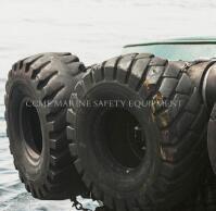 China Used tyres airplane tyres Marine tugboat rubber fender on sale
