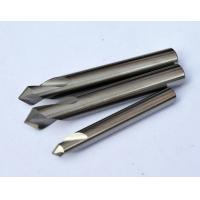 China 0.8 um Micro Grain Size Chamfer Cutting Tool / End Mill Cutter  With Solid Carbide wholesale