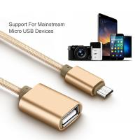 Buy cheap Micro USB OTG Cell Phone Data Cable Adapter Converter For Samsung Xiaomi LG Sony TCL from wholesalers